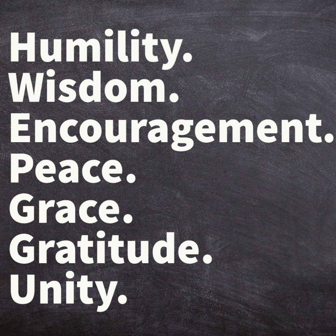The Seven Words of Healthy Fellowship